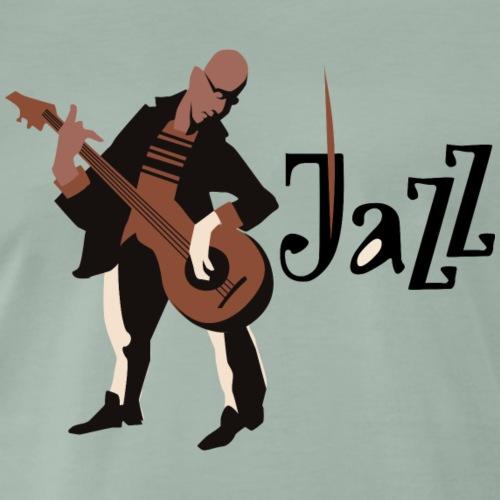 Jazzgitarrist - Männer Premium T-Shirt