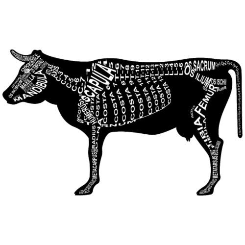 Rind-Skelett - Männer Premium T-Shirt