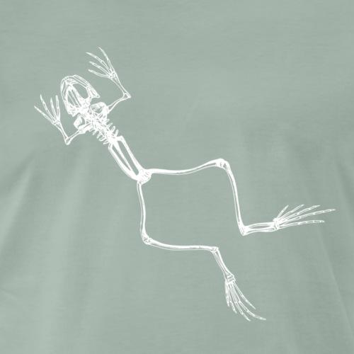 Frosch Skelett - Männer Premium T-Shirt