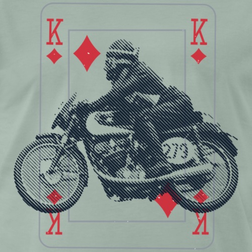 Moto Morini Rebello The King Pilot - Maglietta Premium da uomo
