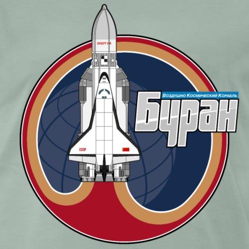 Buran shuttle - Men's Premium T-Shirt