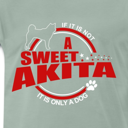 If it is not a Akita it is only a dog! - Männer Premium T-Shirt
