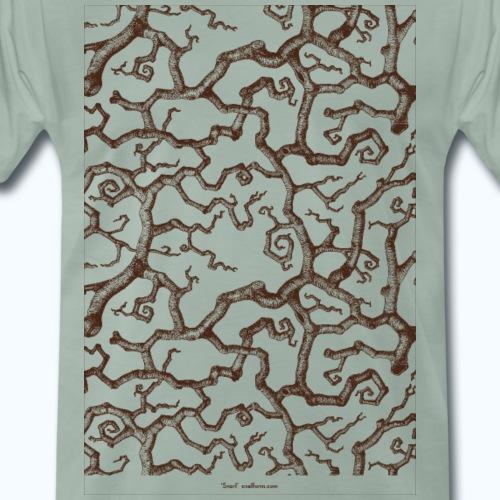 Snarl - Premium-T-shirt herr