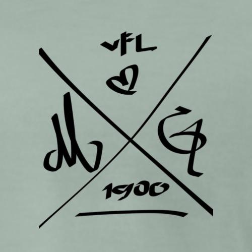 VFL | <3 | MG | 1900 - Männer Premium T-Shirt