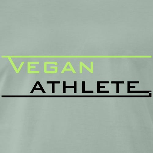 VEGAN ATHLETE - Männer Premium T-Shirt