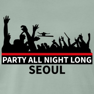 SEOUL - Party all night long - Premium-T-shirt herr