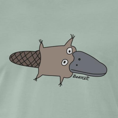 Platypus 1 - Mannen Premium T-shirt
