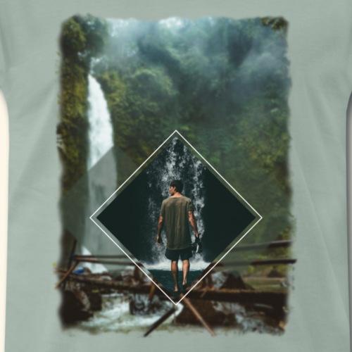 Woods and waterfalls - Männer Premium T-Shirt
