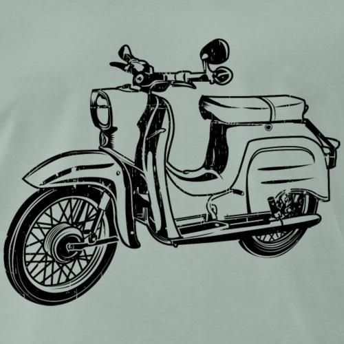 Simson Schwalbe KR51 Silhouette - Männer Premium T-Shirt