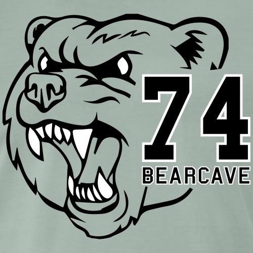 Bear Cave Football 74 - Mannen Premium T-shirt