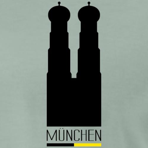 Munich Casual - Frauenkirche - München - Männer Premium T-Shirt