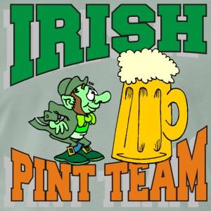 Irish Équipe potable Pint - T-shirt Premium Homme