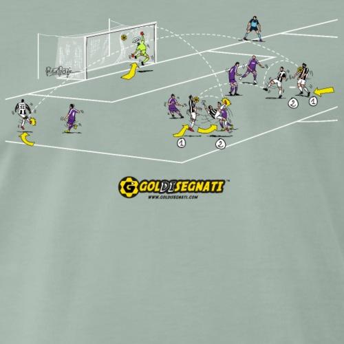 RMA-JUV 1-1 Il gol del pareggio su rovesciata - Maglietta Premium da uomo