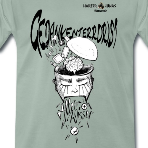 Gedankenterrorist - Männer Premium T-Shirt