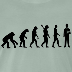 Evolution poker poker b - Mannen Premium T-shirt