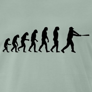 Baseball evolution - Männer Premium T-Shirt