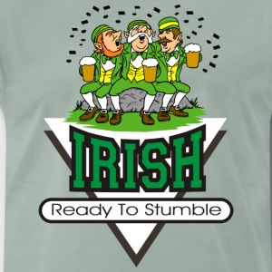 Irish Ready To Stumble - Maglietta Premium da uomo