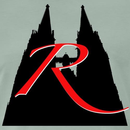 R wie Regensburg: Dom St. Peter - Männer Premium T-Shirt