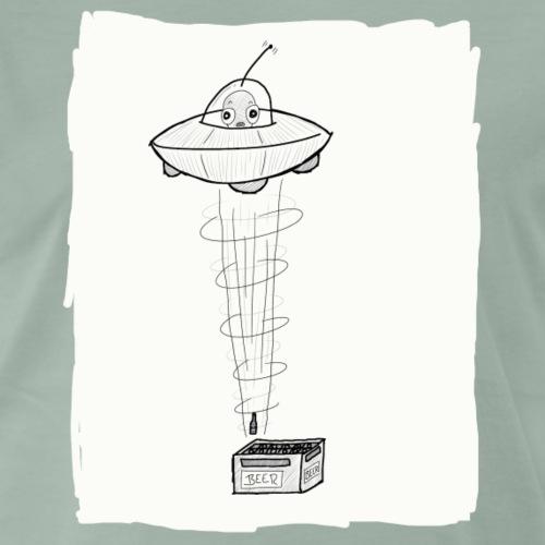 Alien Beer - Männer Premium T-Shirt