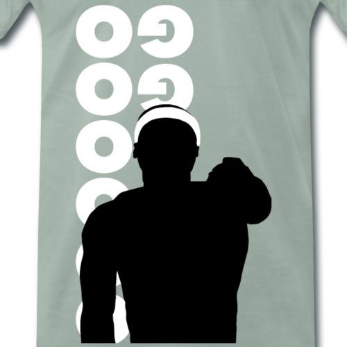 Go Go Go Go Go Go - Mannen Premium T-shirt