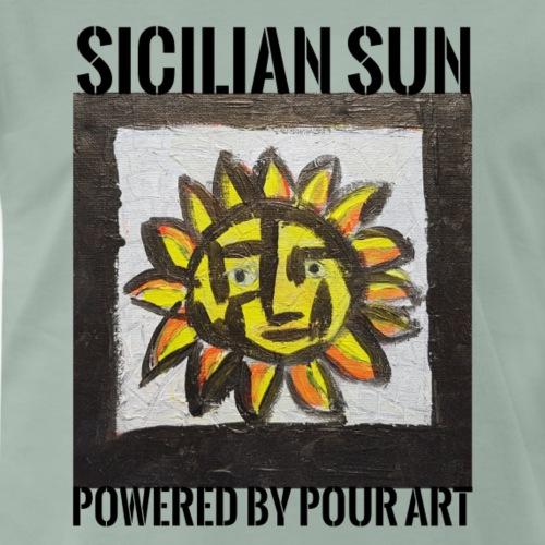 Sicilian Sun - Herre premium T-shirt