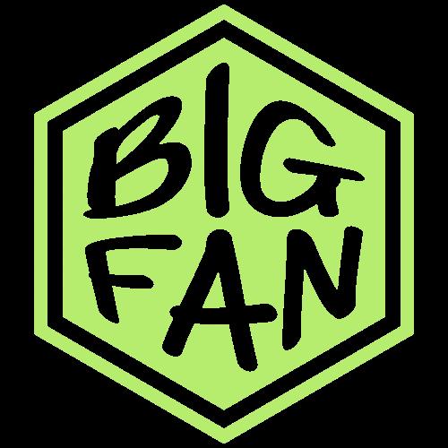 Big Fan Shop logo - T-shirt Premium Homme