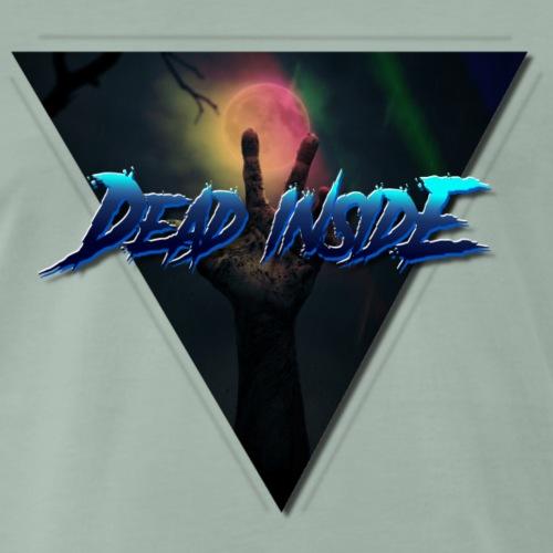 dead inside zombie colore - Maglietta Premium da uomo