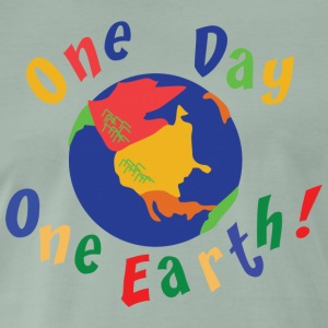 Tag der Erde One Day One Earth - Männer Premium T-Shirt