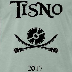 Tisno Digital Pirate Black - Premium T-skjorte for menn