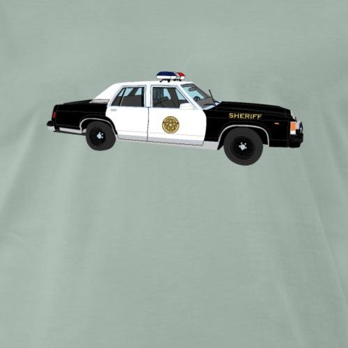 Sheriff Auto - Männer Premium T-Shirt