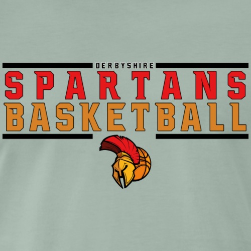 Derbyshire Spartans Basketball - Men's Premium T-Shirt