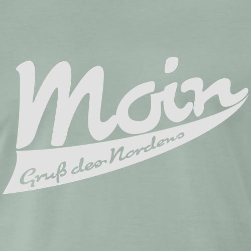 Moin - Gruß des Nordens - Männer Premium T-Shirt