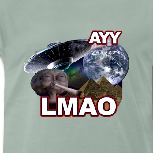 Ayy LMAO Alien - Men's Premium T-Shirt