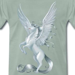 Pegasus 10 - Premium-T-shirt herr