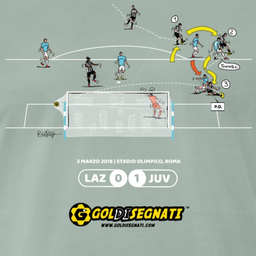 LAZ-JUV 0-1 | Il Gol di Paulo - Maglietta Premium da uomo