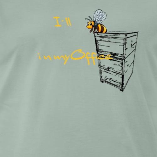 Biene im büro T-shirt - Männer Premium T-Shirt