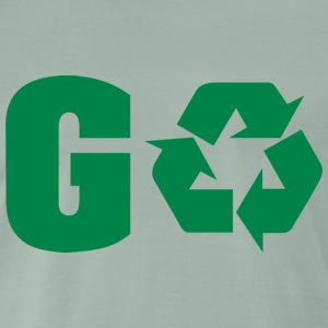 Earth Day Recycle Go Green - Maglietta Premium da uomo