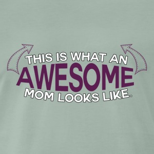 Mothers Day - Awesome Mum! - Men's Premium T-Shirt