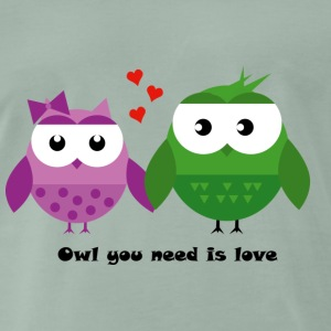 Uil you need is love - Mannen Premium T-shirt