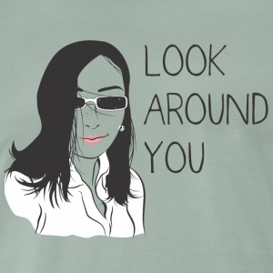 Look around - Men's Premium T-Shirt