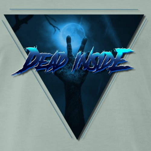 dead inside zombie - Maglietta Premium da uomo