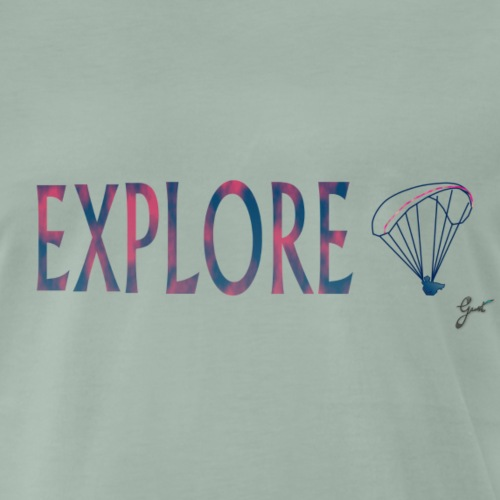 Explorez planeur - T-shirt Premium Homme
