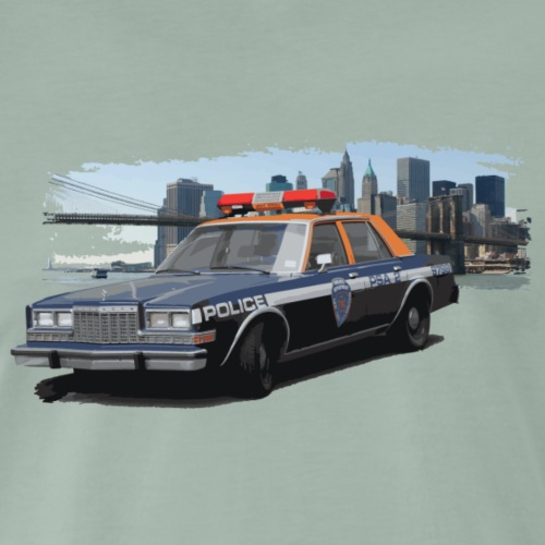 Police Car - T-shirt Premium Homme