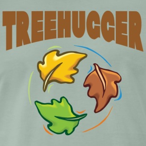 Earth Day Treehugger - Premium-T-shirt herr