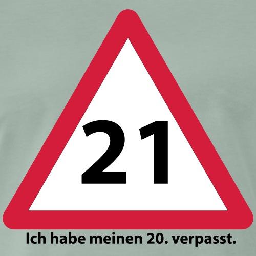 21 Geburtstag Geschenkidee - Männer Premium T-Shirt
