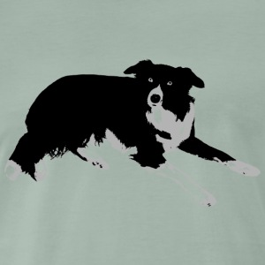 Border Collie, un véritable ami. - T-shirt Premium Homme
