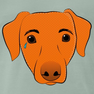 Pop Art Dog - Männer Premium T-Shirt