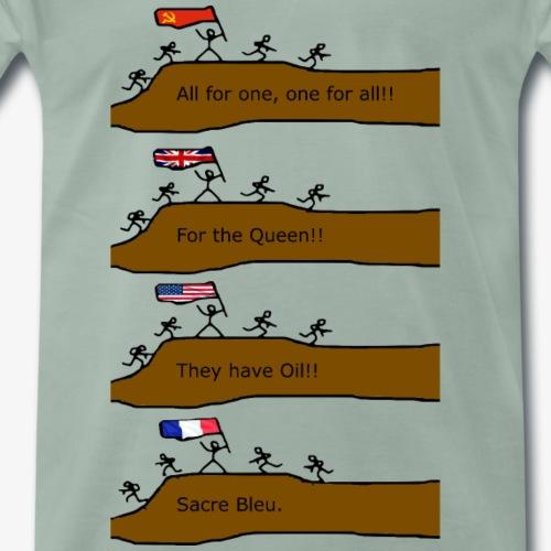 Sacre Bleu - Männer Premium T-Shirt