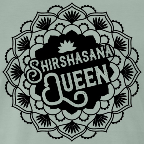 Shirshasana Queen Yoga - T-shirt Premium Homme