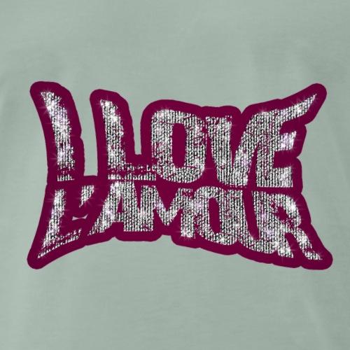 I LOVE L AMOUR - T-shirt Premium Homme
